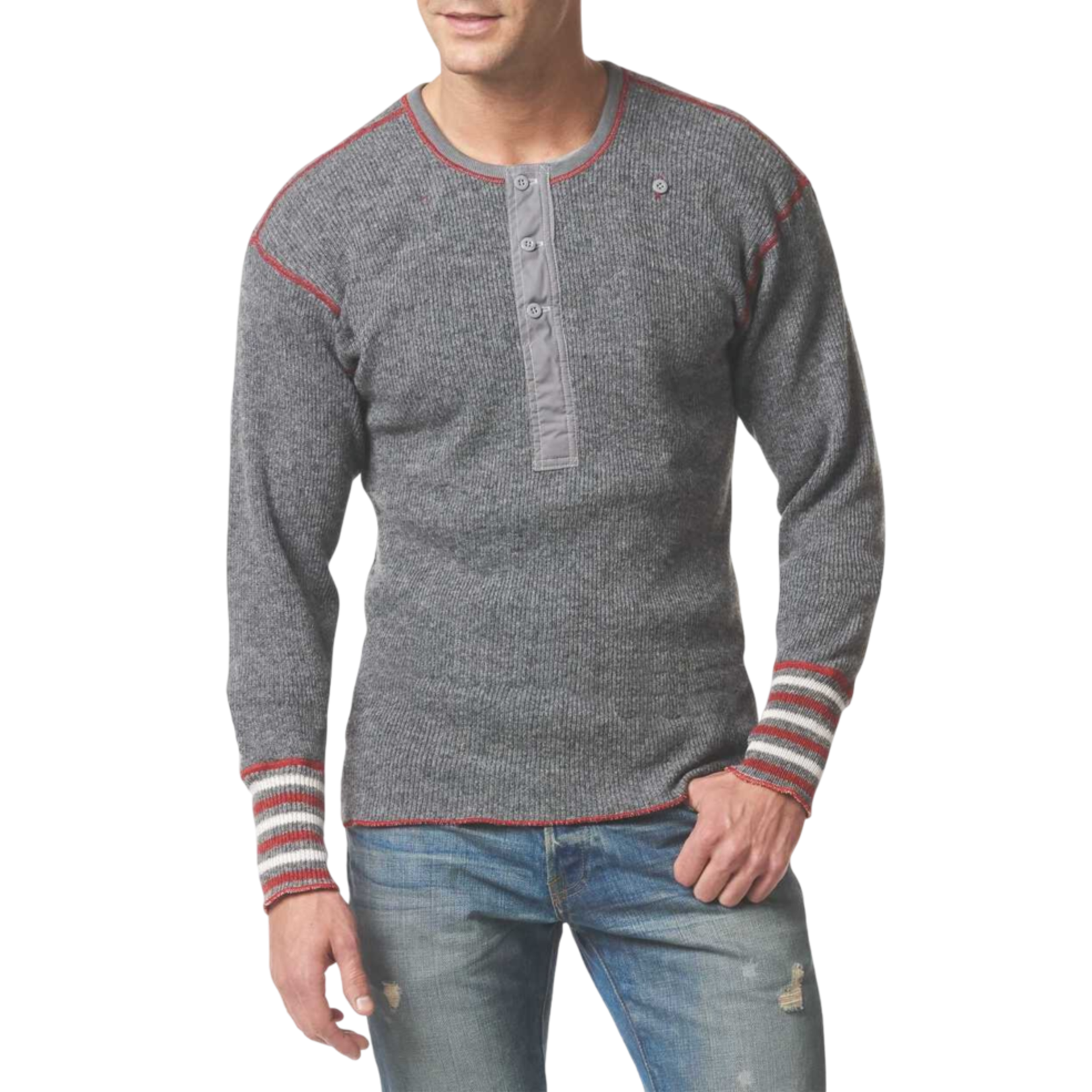 Stanfields Stanfields 1327 Heritage Wool Henley - 2 Colors