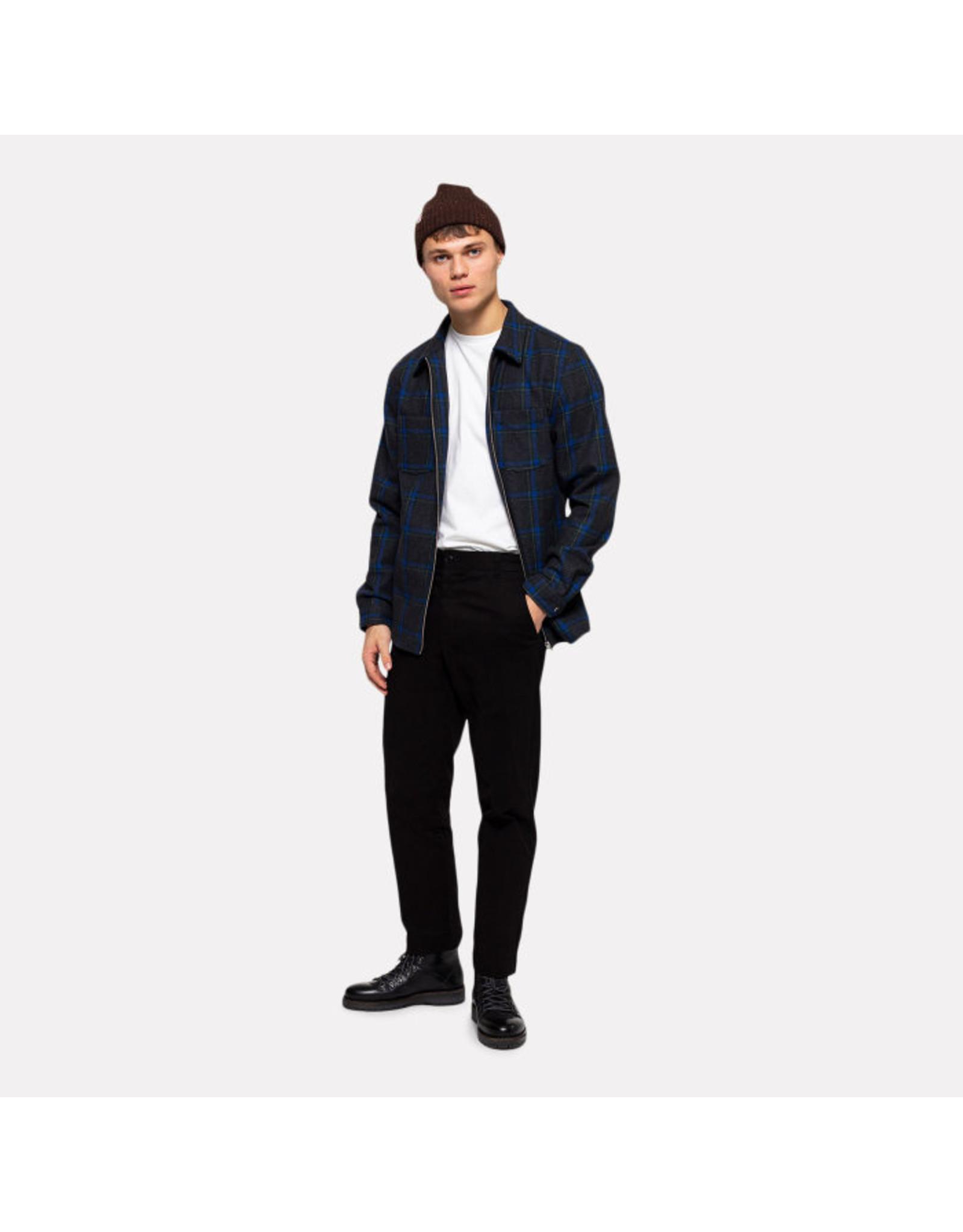 RVLT 3792 Flannel Shirt Jacket - Navy