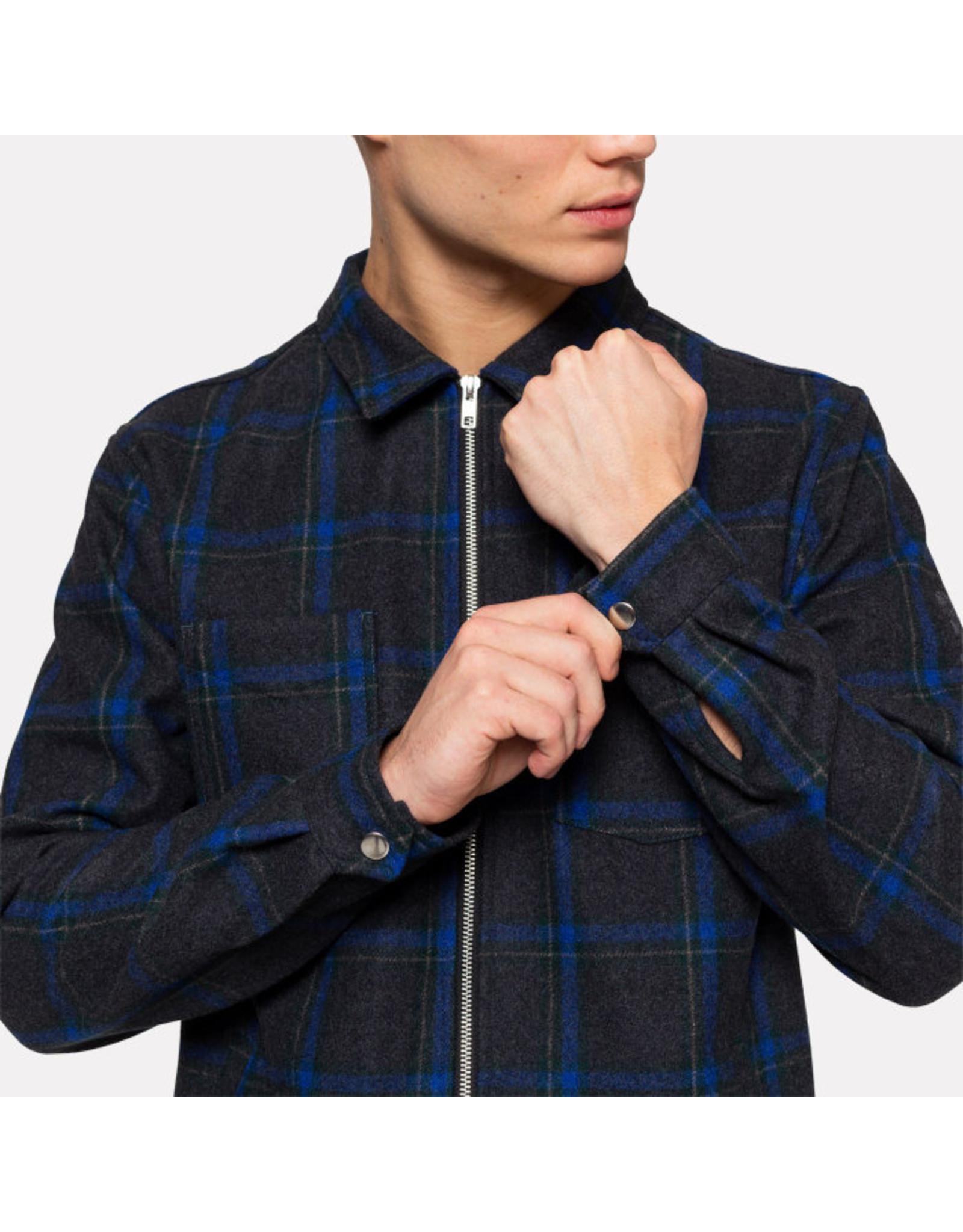 RVLT Revolution RVLT 3792 Flannel Shirt Jacket - Navy