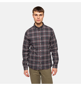 RVLT 3775 Checked Shirt - Dark Navy