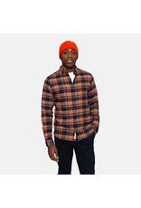 RVLT Revolution RVLT 3774 Checked Shirt - Orange