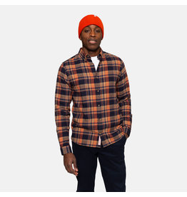 RVLT 3774 Checked Shirt - Orange