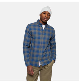 RVLT 3773 Checked Shirt - Grey