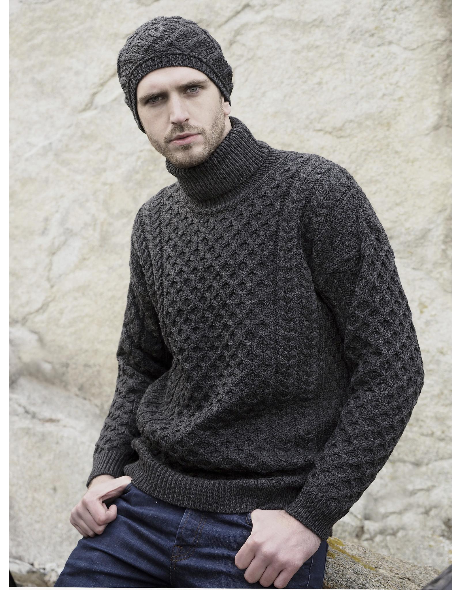 Aran Crafts Aran Crafts R1949 Merino Roll Neck Sweater