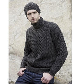 Aran Crafts Aran Crafts R1949 Merino Roll Neck Sweater