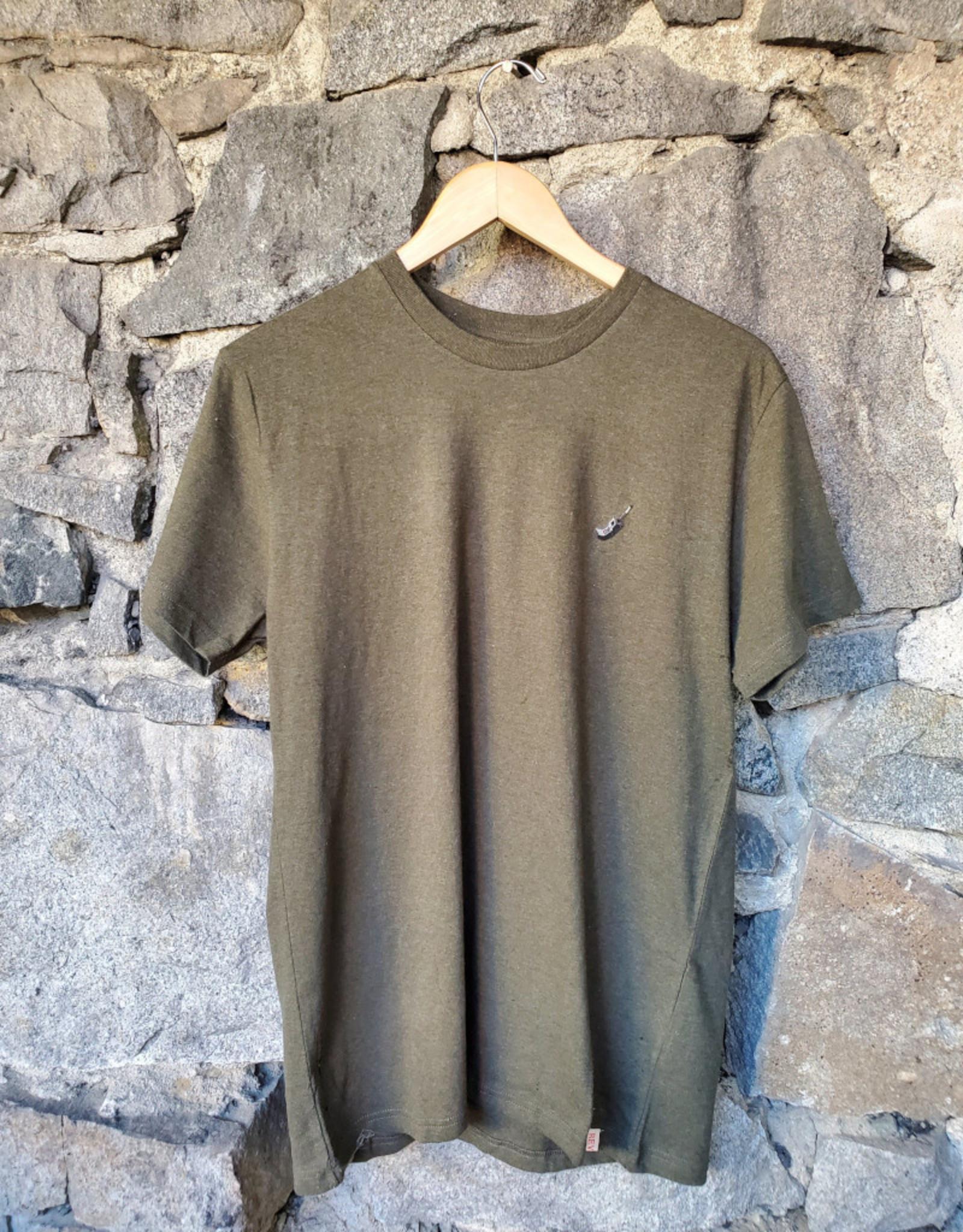 RVLT 1198 CEL Application T-Shirt - Army-Melange