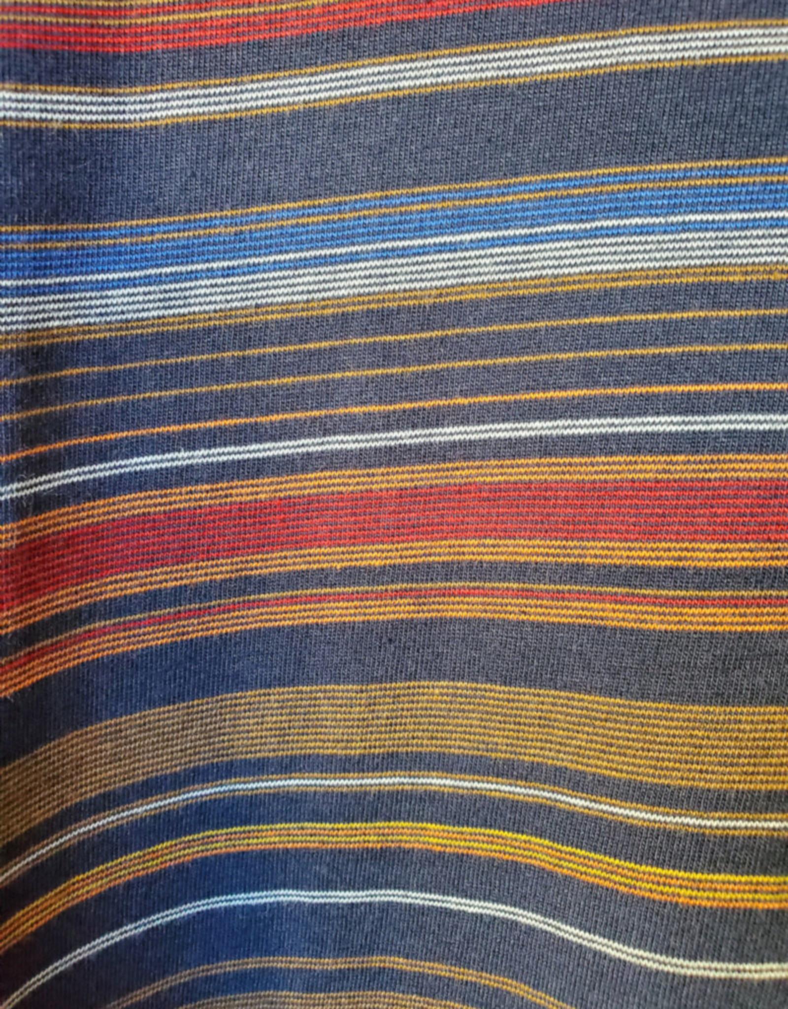 RVLT Revolution RVLT 1195 Panel T-Shirt Navy