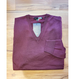 Horst Horst 311 V-Neck Sweater Burgundy