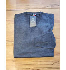 Horst Horst 311 V-Neck Sweater Charcoal