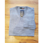 Horst Horst 311 V-Neck Sweater Light Grey