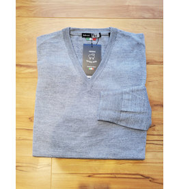 Horst Horst 311 V-Neck Sweater Light Grey