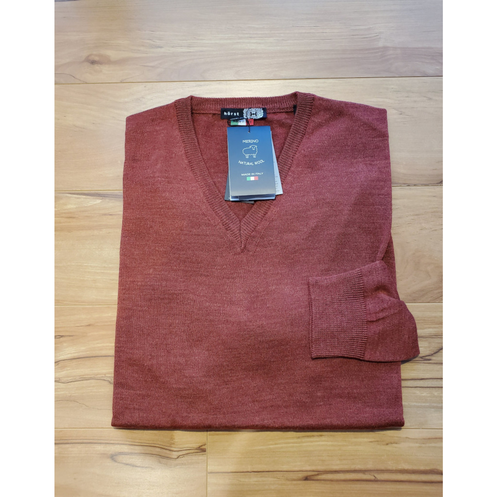 Horst Horst 311 V-Neck Sweater Rust