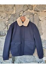 Jack & Jones Jack & Jones Philson Wool Jacket - Dark Navy
