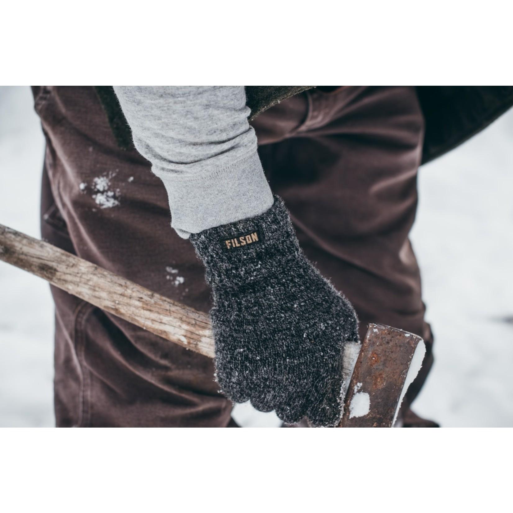 Filson Filson 20020939 Full-Finger Knit Gloves