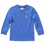 Carhartt Carhartt Kids CA6121 Toddler Long Sleeve Tee w/ Pocket - 2 Colors