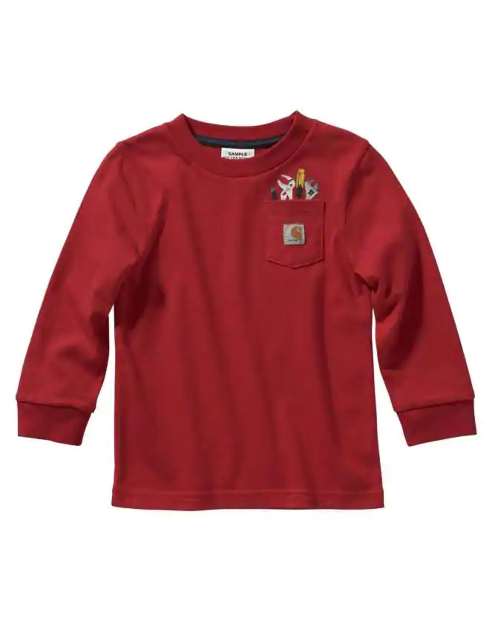 Carhartt Carhartt Kids CA6121 Toddler Long Sleeve Tee w/ Pocket - 2 Colors
