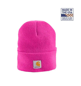Carhartt Carhartt Kids CB8905 Toddler Acrylic Watch Hat - Raspberry Rose