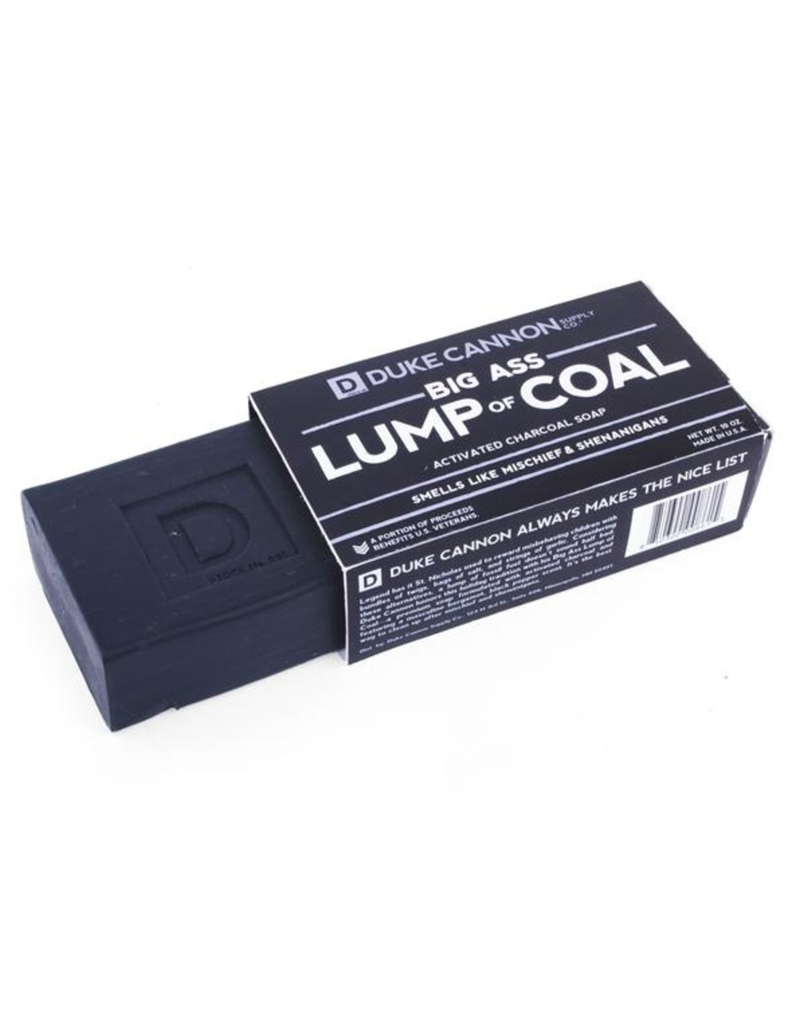 Duke Cannon Supply Co. Duke Cannon Big Ass Lump of Coal Soap