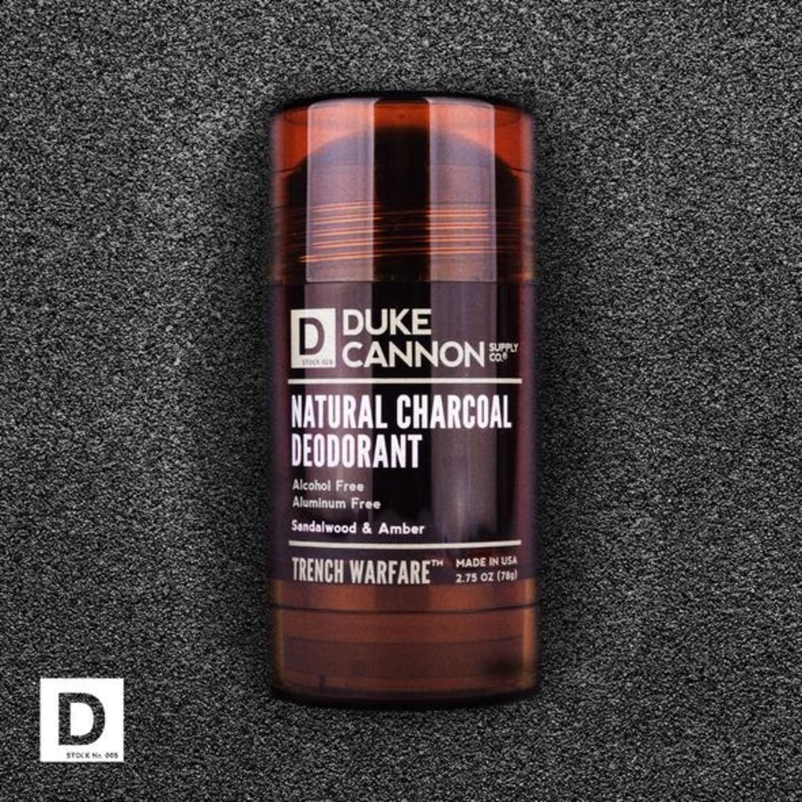 Duke Cannon Supply Co. Duke Cannon Trench Warfare Natural Charcoal Deodorant