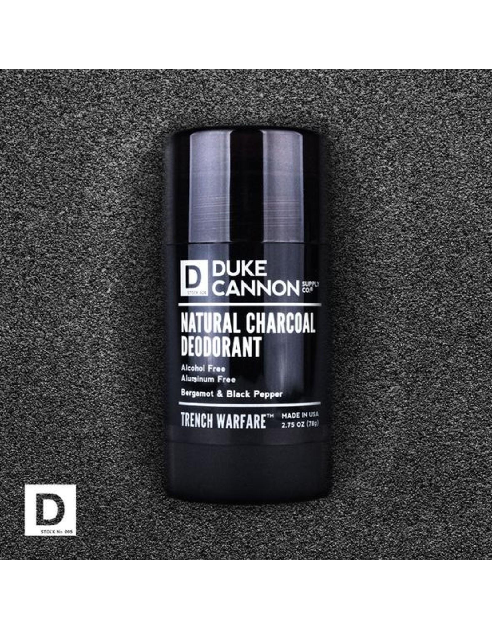 Duke Cannon Supply Co. Duke Cannon Natural Charcoal Deodorant - 2 Scents