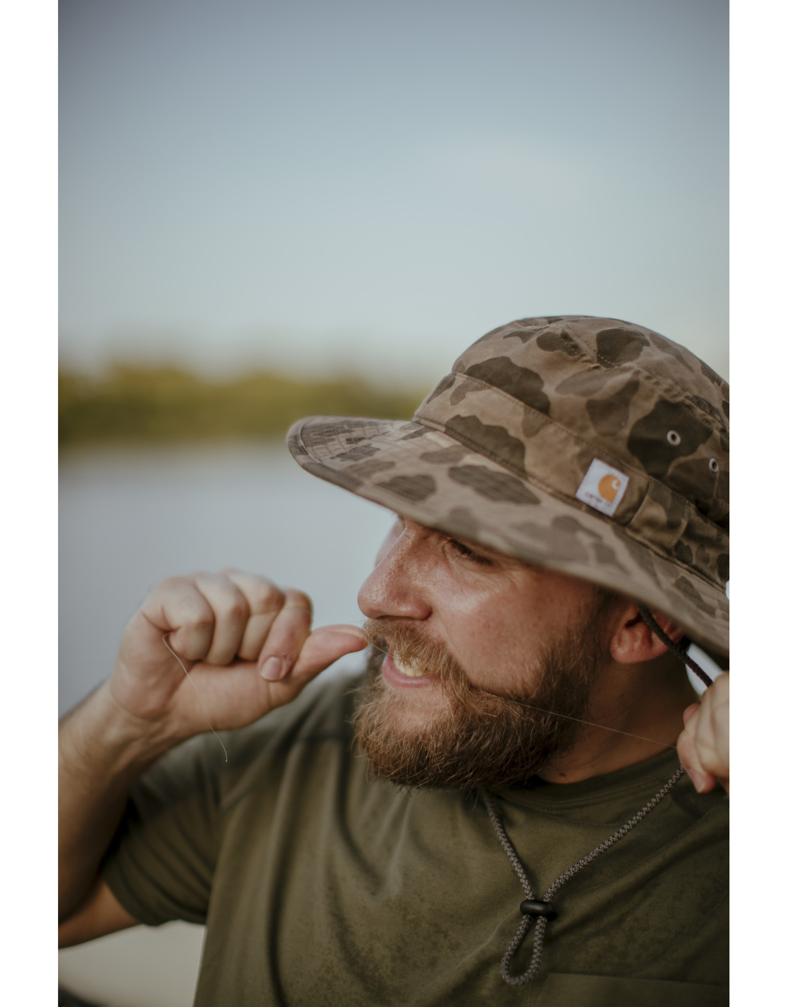 Carhartt Carhartt Rugged Flex Canvas Boonie Hat