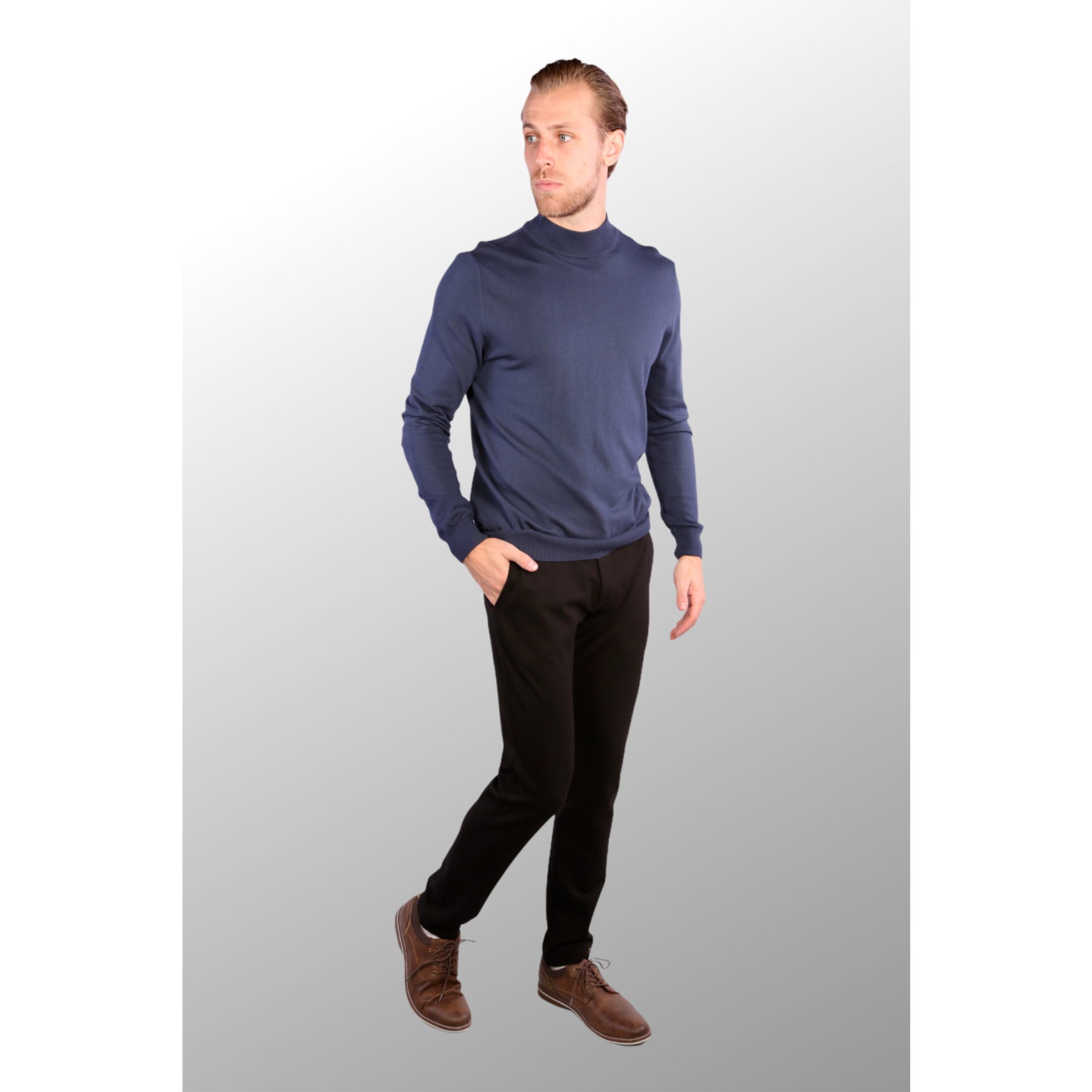 7 Downie St. 7 Downie St. Mock Neck Sweater - 2 Colors