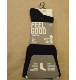 McGregor McGregor Non-Elastic Feel Good Sock Black
