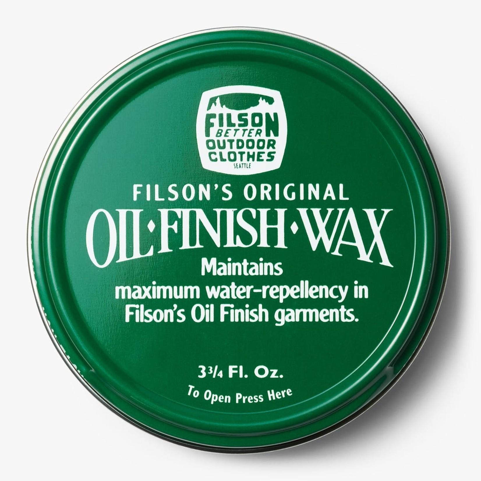 Filson Filson 11069033 Oil Finish Wax 3 3/4 Oz. tin