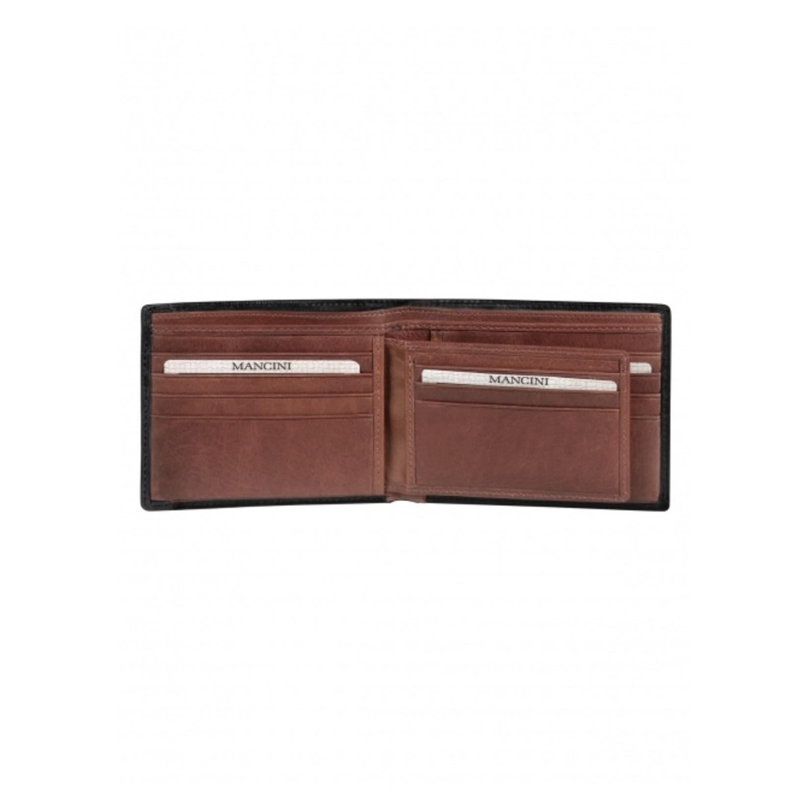 Mancini Mancini 8700852 Slimfold w/ Removable Passcase