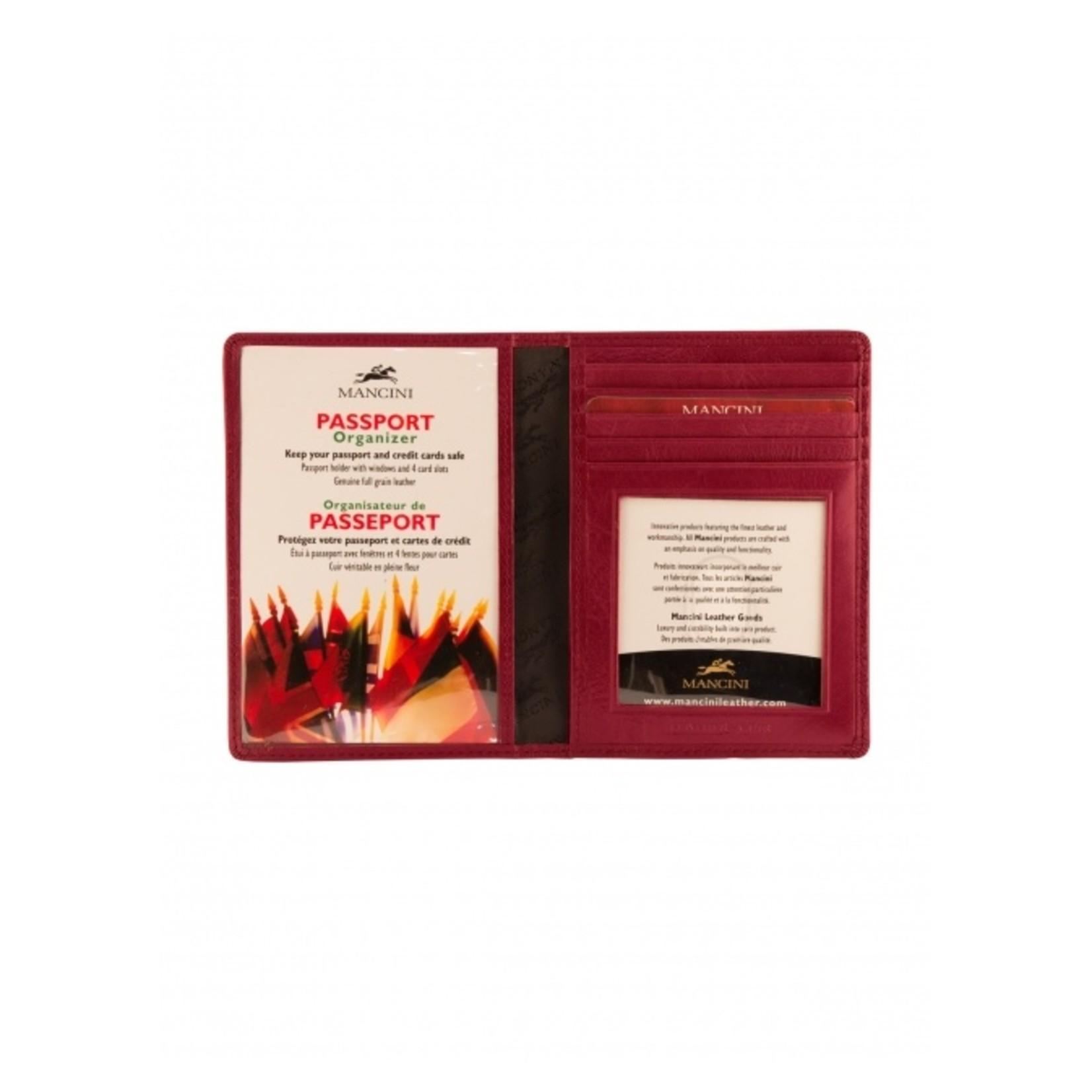 Mancini Mancini 52171 RFID Passport wallet