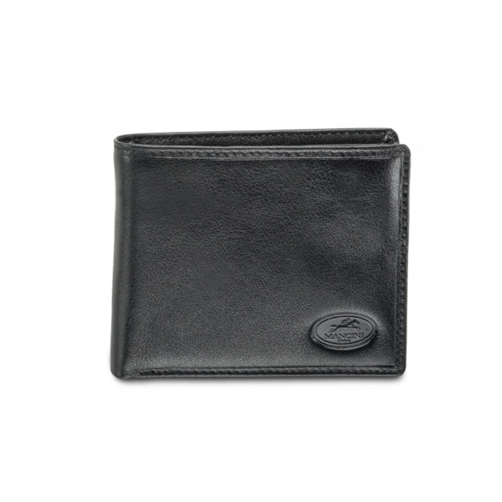 Mancini Mancini 52183 Billfold w/coin purse & centre flap