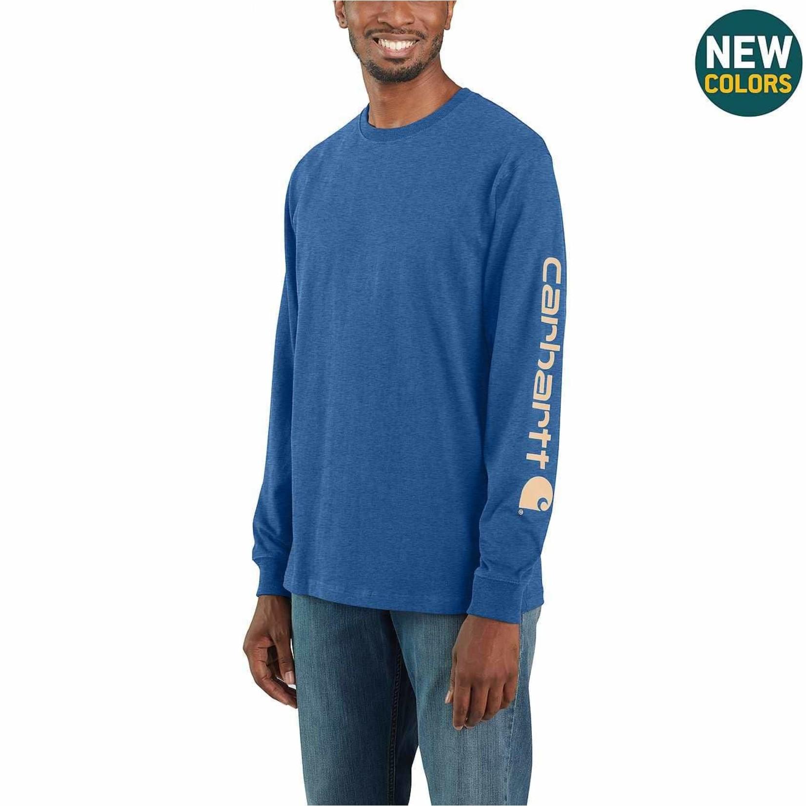 Carhartt Carhartt K231 Heavy Weight Long Sleeve Logo Sleeve T-shirt