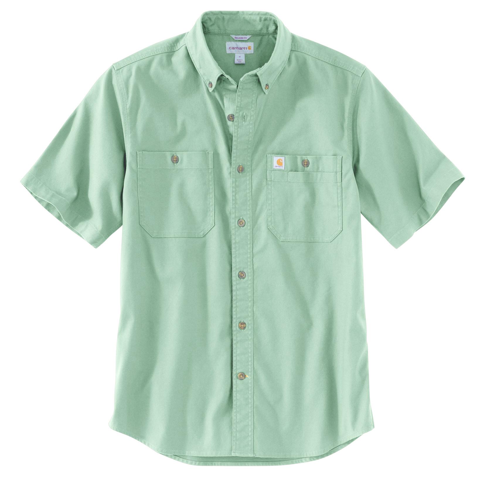 Carhartt Carhartt 103555 Relaxed Fit Midweight Canvas SS Shirt