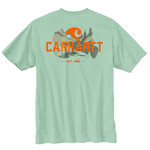 Carhartt Carhartt 104615 Relaxed Fit HvyWght SS Pkt Graphic T