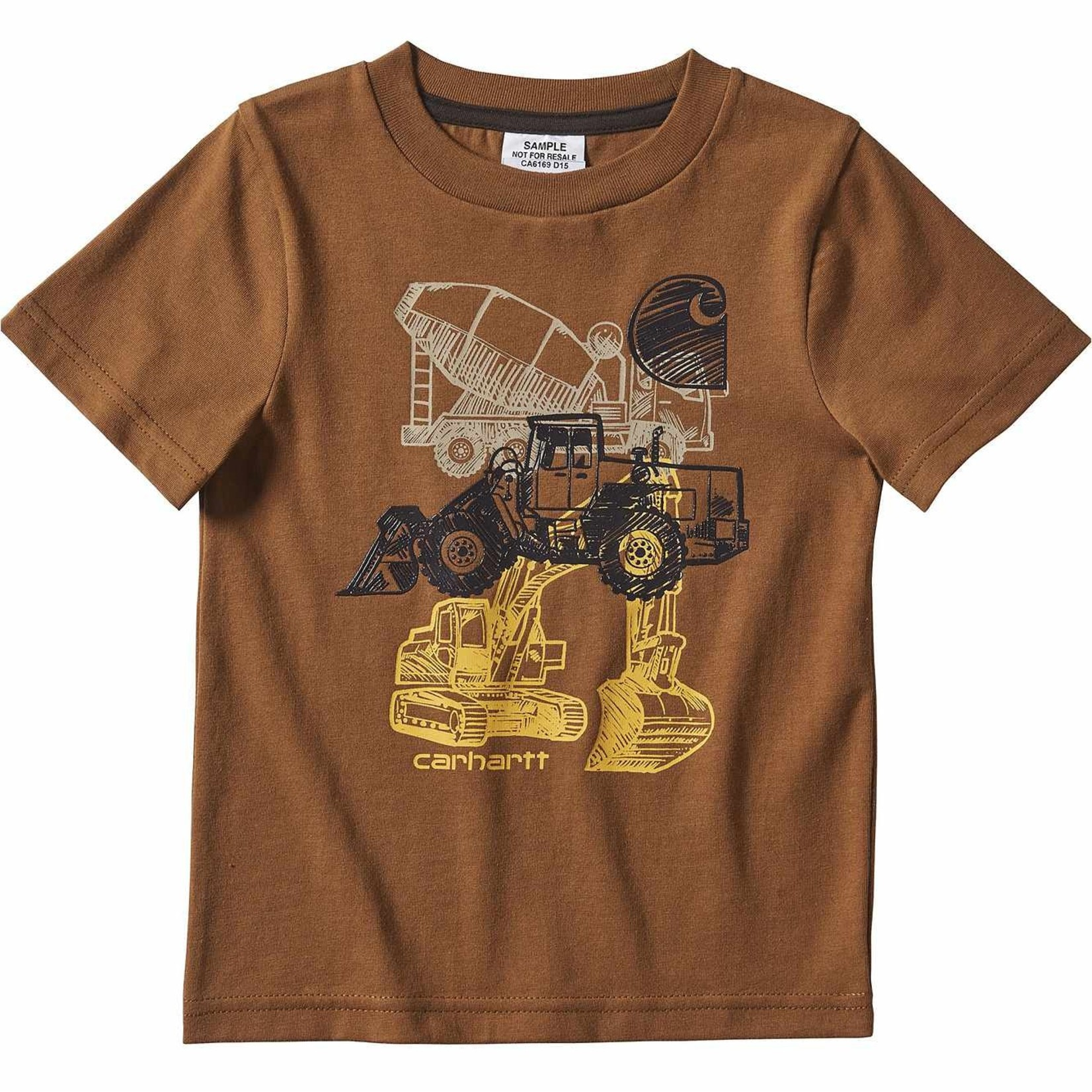 Carhartt Carhartt Kids CA6169 Heavy Equipment Boys Tee