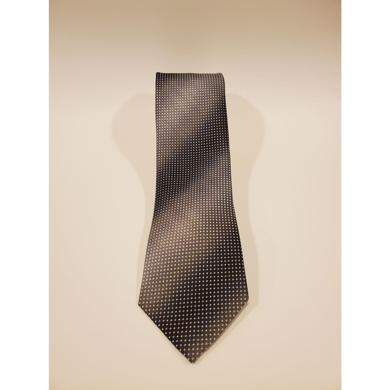 Polifroni Blu 201214 Jacquard Micro Dot Pattern Silk Tie