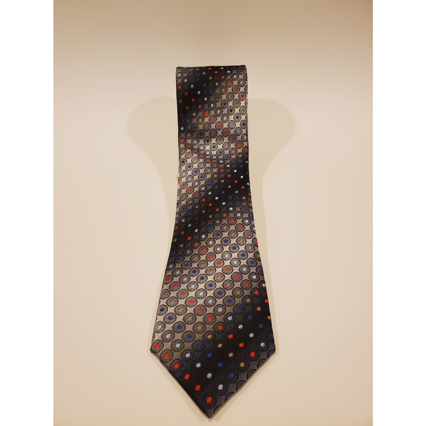 Polifroni Blu 211208 Jacquard Dot Pattern Silk Tie