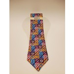Serica 212606 Printed Square Pattern Silk Tie