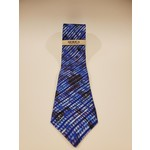 Serica 212608 Printed Striped Silk Tie
