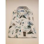 Culturata Culturata SS8425 SS Contemp Fit Shirt Hawaiian