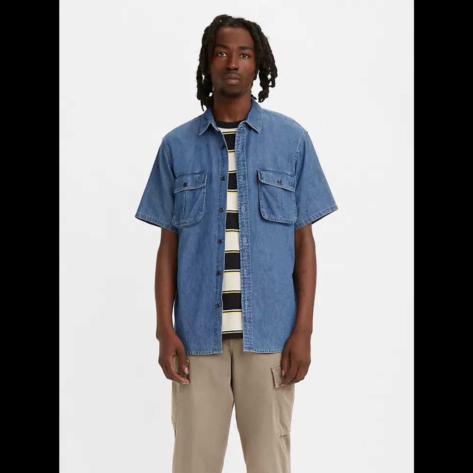 Levis Levi's 39152 Short-Sleeve Two-Pocket Relaxed Safari Shirt