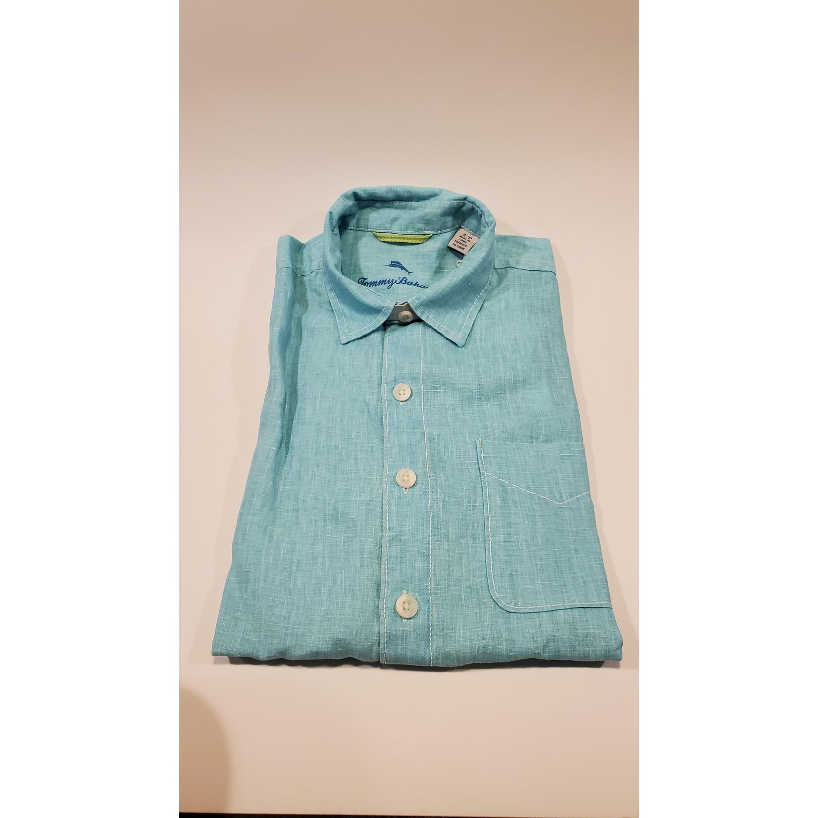 Tommy Bahama Tommy Bahama ST324636 Short Sleeve Sea Glass Camp Shirt