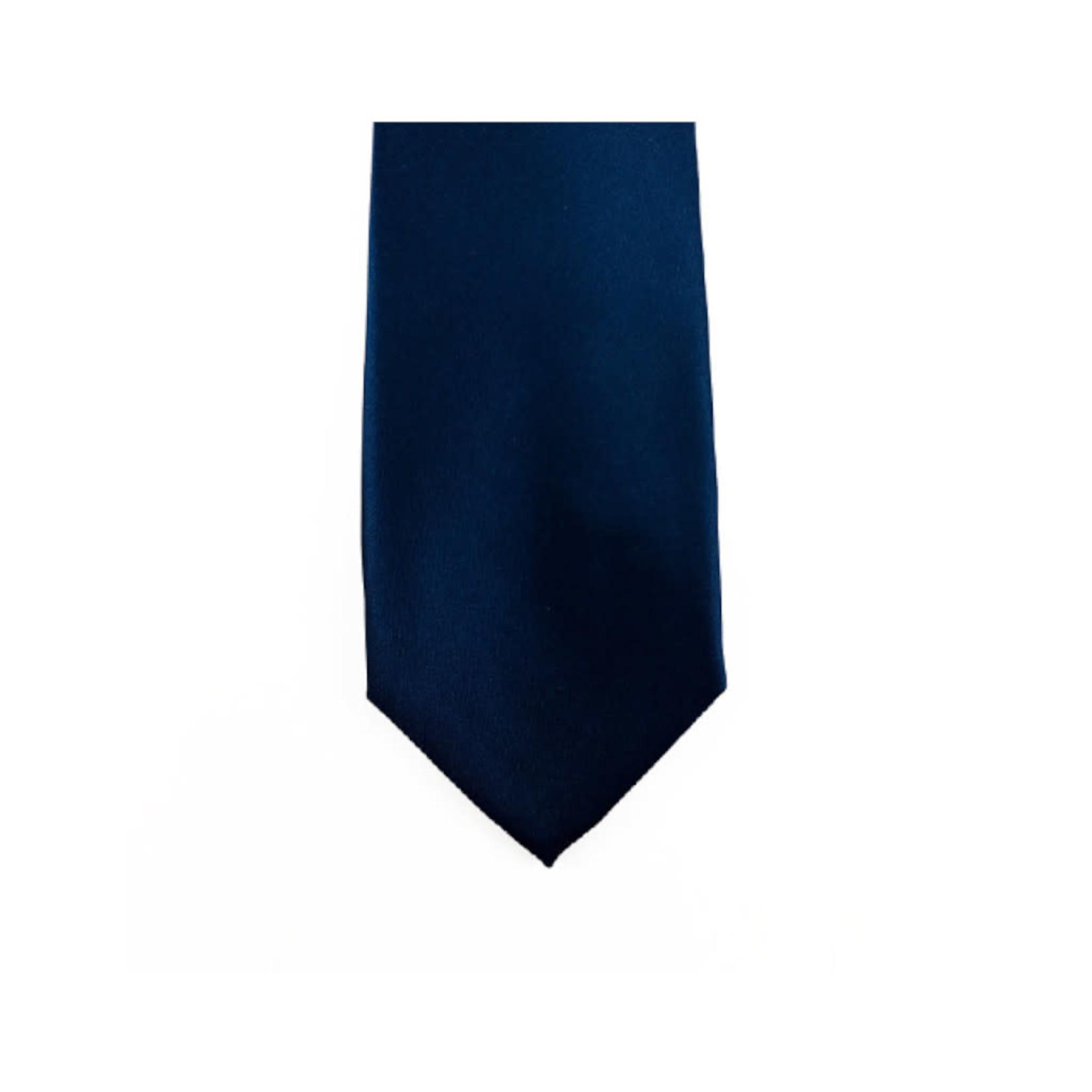 Knotz M100-2 Solid Navy Tie