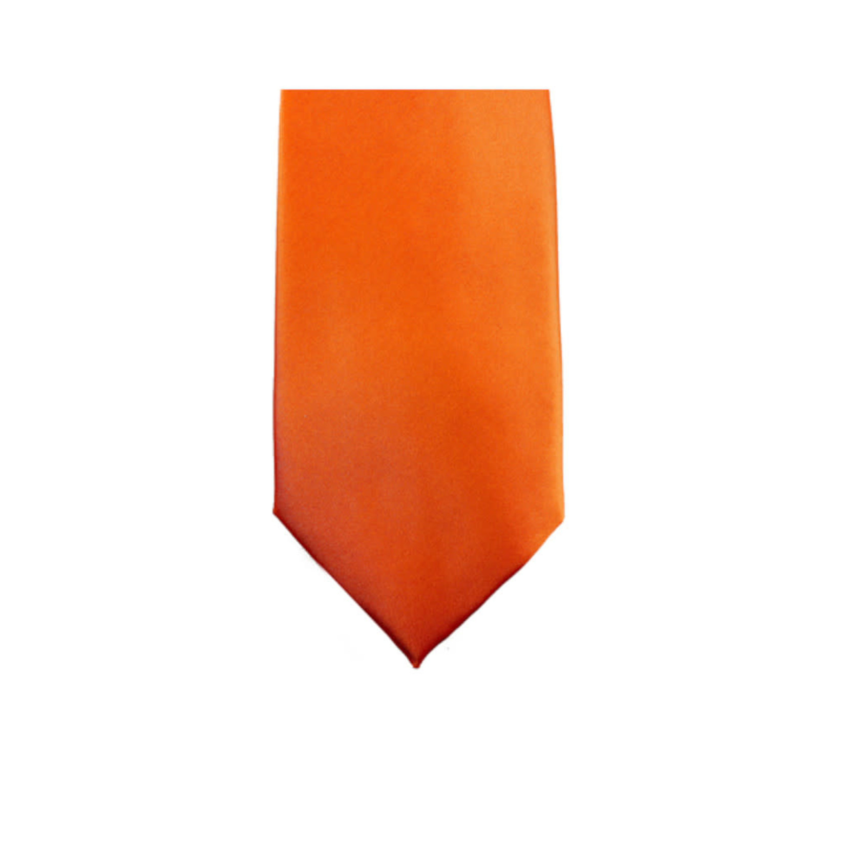 Knotz M100-10 Solid Orange Tie