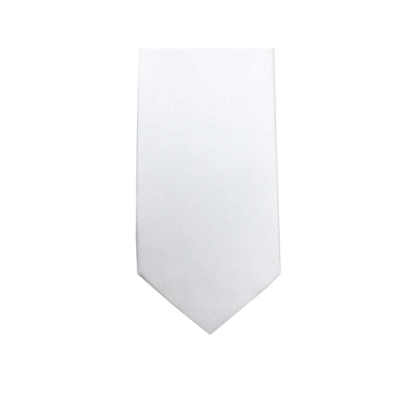 Knotz M100-11 Solid White Tie