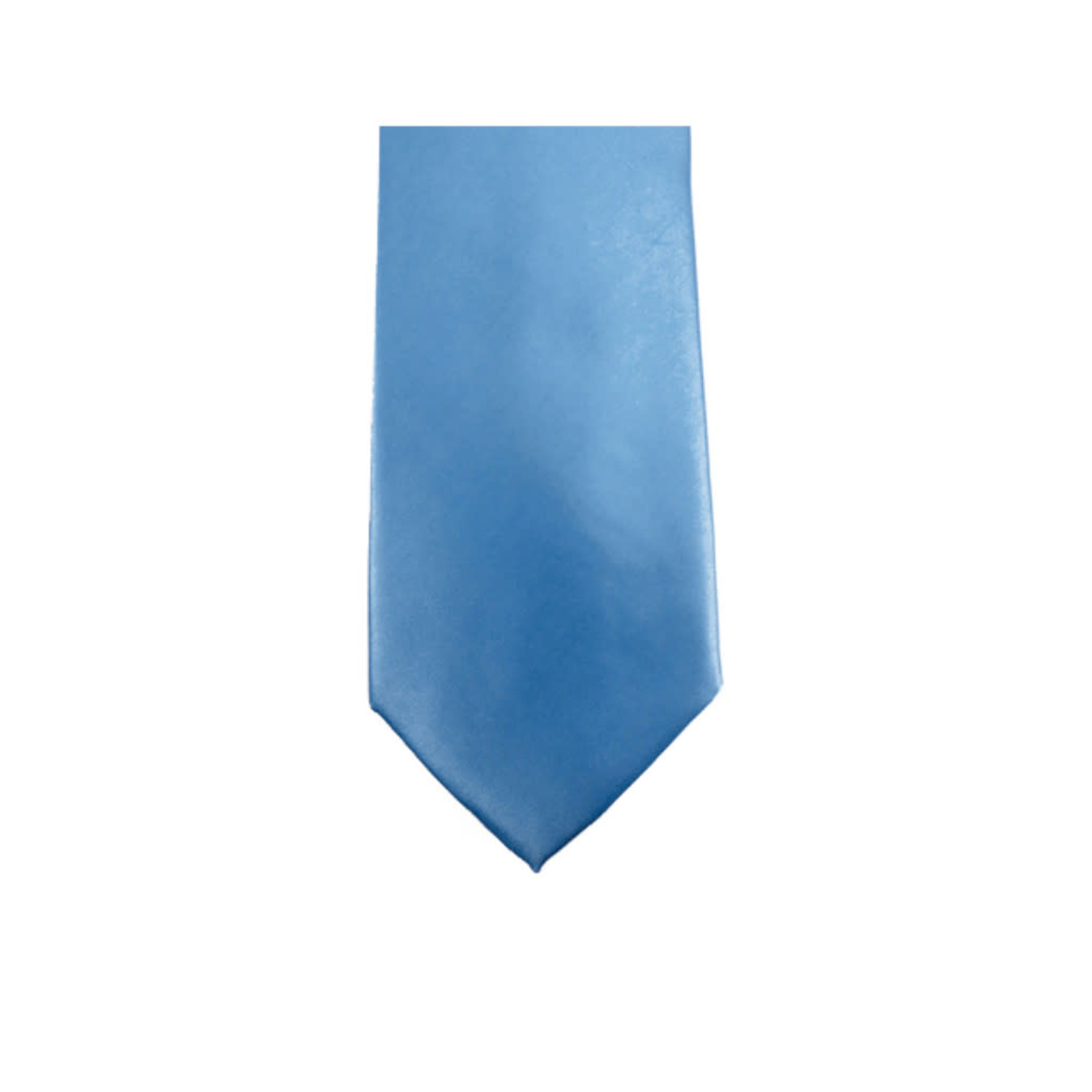 Knotz M100-12 Solid Blue Tie