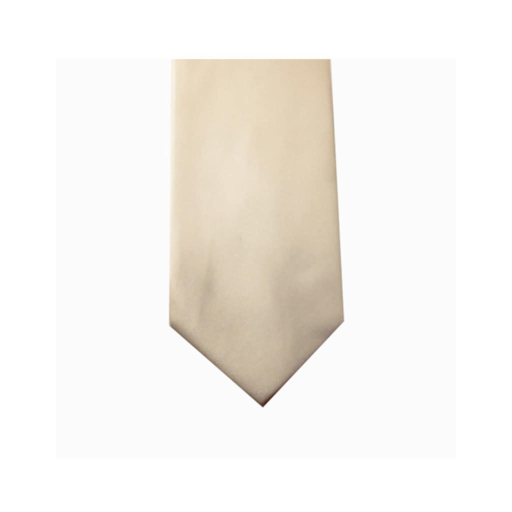 Knotz M100-33 Solid Ecru Tie