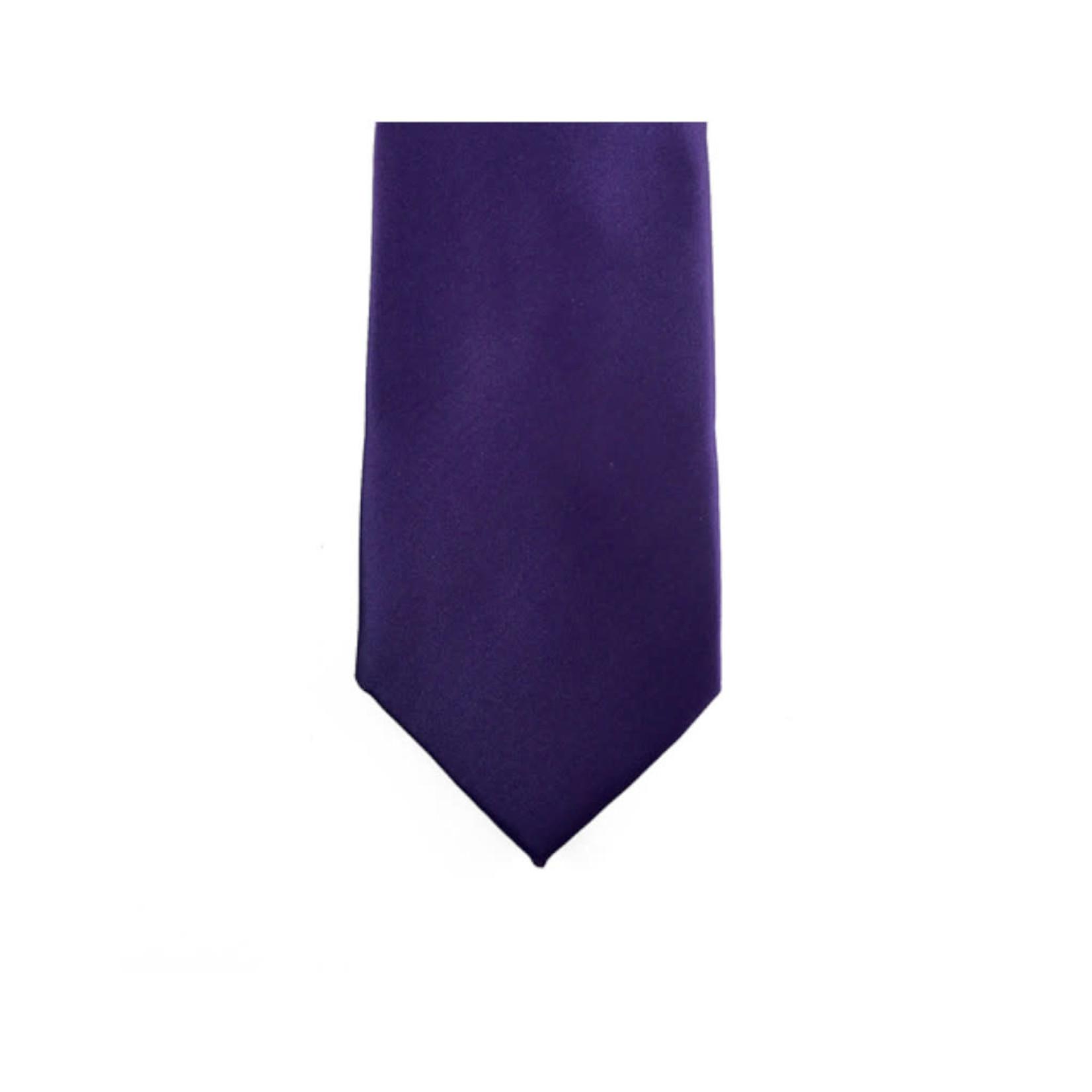 Knotz M100-35 Solid Purple Tie