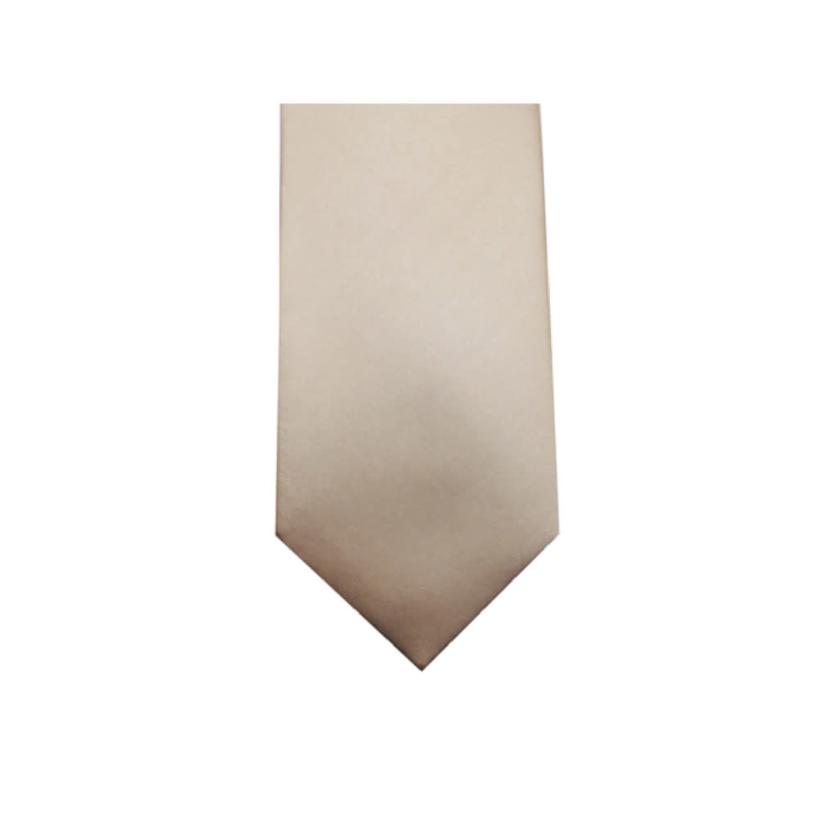 Knotz M100-56 Solid Champagne Tie