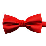 Knotz Solid Light Red Bowtie